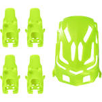 HUBSAN Body Shell and Motor Supports for Q4 Nano H111 Quadcopter (Green)