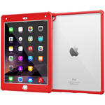 rooCASE Glacier Tough Case for Apple iPad Air 2 2014, 6th Generation (Testarossa Red)