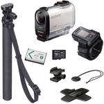 Sony FDR-X1000V 4K Action Cam Summer Kit with Live View Remote