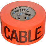 "Permacel/Shurtape Permacel / Shurtape Caution Tape - Fluorescent Orange 3"" x 50 yd (45.7 m)"