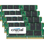 Crucial 64GB DDR4 2400 MHz SO-DIMM Memory Kit (4 x 16GB)