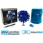 360RIZE Pro10HD 360° Plug-n-Play Holder Kit with 360CamMan and Video-Stitch Studio