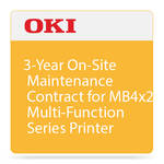 OKI 3-Year On-Site Maintenance Contract for MB4x2 Multi-Function Series Printer