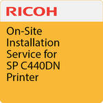 Ricoh On-Site Installation Service for SP C440DN Printer