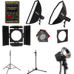 Novatron D1500 4 Fan-Cooled Light Kit with Two Softboxes