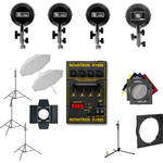 Novatron D1500 Four Head Studio Kit