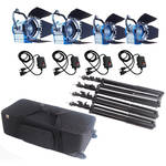CAME-TV Fresnel Tungsten Video Spotlight Kit