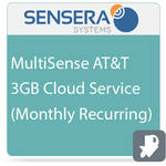 Sensera MultiSense AT&T 3GB Cloud Service (Monthly Recurring)