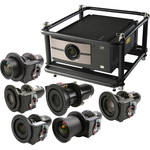 Barco RLM-W8 8000-Lumen WUXGA DLP Projector with Rental Frame and 7 Lenses