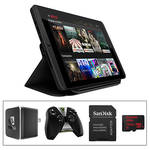 "NVIDIA 8"" SHIELD 16GB Tablet K1 Kit with SHIELD wireless controller, SHIELD World Charger, Tablet K1 Cover, and 128GB microSDXC Memory Card"