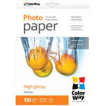 "ColorWay High Gloss Photo Paper (8.5 x 11"", 100 Sheets, 130 gsm)"