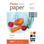 "ColorWay Matte Photo Paper (8.5 x 11"", 500 Sheets, 108 gsm)"