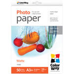 "ColorWay Matte Photo Paper (13 x 19"", 50 Sheets, 190 gsm)"