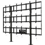 "Peerless-AV Modular Video Wall Pedestal Mount for 46 to 55"" Displays (3x3 Configuration)"
