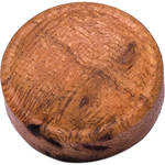 Artisan Obscura Soft Shutter Release Button (Small Concave, Sticky-Backed, Cherry Burl Wood)