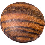 Artisan Obscura Soft Shutter Release Button (Large Convex, Threaded, Bocote Wood)