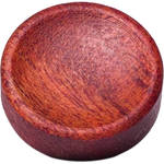 Artisan Obscura Soft Shutter Release Button (Large Concave, Threaded, Bloodwood)