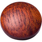 Artisan Obscura Soft Shutter Release Button (Small Convex, Threaded, Bloodwood)