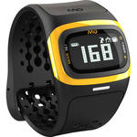 Mio Global ALPHA 2 Heart Rate Sport Watch (Yellow Trim)