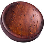 Artisan Obscura Soft Shutter Release Button (Large Concave, Threaded, Teak Wood)