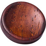 Artisan Obscura Soft Shutter Release Button (Small Concave, Threaded, Teak Wood)