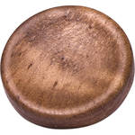 Artisan Obscura Soft Shutter Release Button (Large Concave, Threaded, Walnut Wood)
