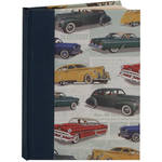 "Lineco Blank Book Kit with Ivory Pages (Vintage Cars Cover, 5.25 x 7.25"")"