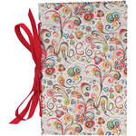 "Lineco Tibetan Books Kit (Set of 2, Art-Nouveau Flowers Cover, 4.25 x 6.5"" & 5 x 7.5"")"