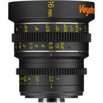Veydra 16mm T2.2 Mini Prime Lens (C-Mount, Feet)