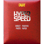 "Galaxy Hyper Speed Direct Positive Black & White Paper (Embossed Glossy, 11 x 14"", 10 Sheets)"