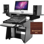 Omnirax CODA Mixing / Digital Editing Workstation Desk (Mahogany Formica)