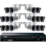 Lorex by FLIR 16-Channel 1080p DVR with 2TB HDD and 16 1080p Bullet Cameras