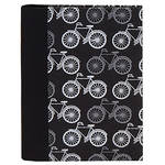 Lineco Address Book Kit with Printed Tabbed Index (Bicycles Cover)