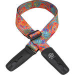 "Lock-It 2"" Bob Masse Series Summer of Love Guitar Strap"