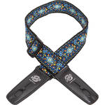 "Lock-It 2"" Vintage Series Guitar Strap (Blue Chill)"
