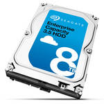 "Seagate 8TB Enterprise Capacity 7200 rpm SAS II 3.5"" Internal HDD"