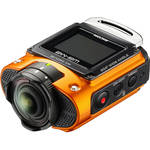 Ricoh WG-M2 Action Camera Kit (Orange)