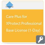 Milestone Care Plus for XProtect Professional Base License (1-Day)
