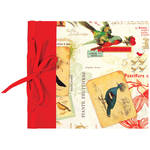 "Lineco Ribbon Bound Album with Top Load Pages (Red Bird Cover, 9 x 10"")"