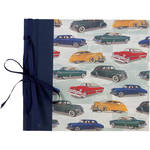"Lineco Ribbon Bound Album with Top Load Pages (Vintage Cars Cover, 9 x 10"")"