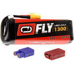 Venom Group Fly 50C 6S 1300mAh LiPo Battery with UNI 2.0 Connector (22.2V)