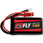 Venom Group Fly 30C 1S 700mAh LiPo Battery with Micro Losi & JST Connectors (3.7V)