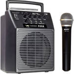 Nady WA-120BT Wireless Handheld Portable Compact PA System with Bluetooth and Handheld Transmitter