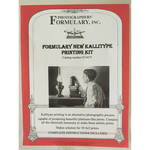 Photographers' Formulary New Kallitype Printing Kit