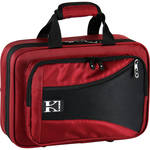 KACES Lightweight Hardshell Clarinet Case (Red)
