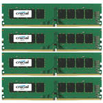Crucial 32GB DDR4 2133 MHz UDIMM Memory Kit (4 x 8GB)