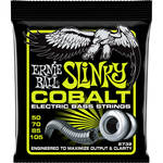 Ernie Ball Cobalt Regular Slinky Electric Bass Strings (4-String Set, .050 - .105)