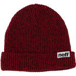 Neff Fold Heather Beanie (Black/Red)