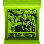 Ernie Ball Regular Slinky Nickel Wound Electric Bass Strings (5-String Set, .045 - .130)