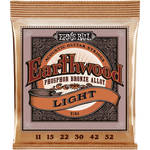 Ernie Ball Earthwood Light Phosphor Bronze Acoustic Guitar Strings (11 - 52)